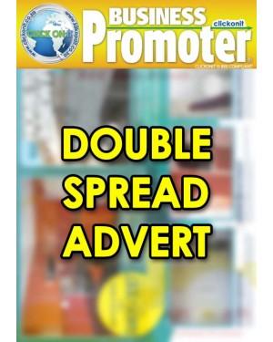 Double Spread Advert