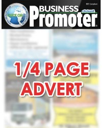 1/4 Page Advert